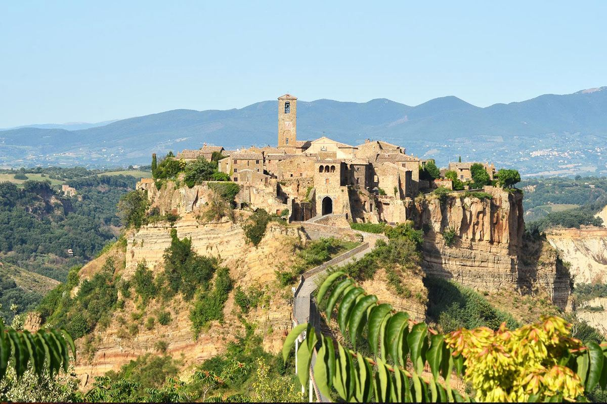Orvieto And Civita Di Bagnoregio